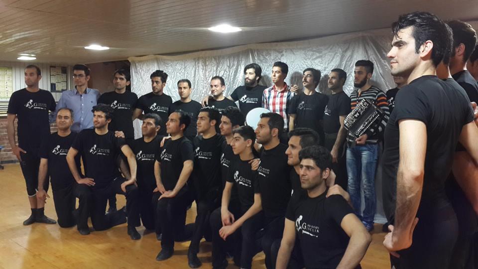 رقص آذری گروه گنجلیک تهران-سعید عبدی 09141025954