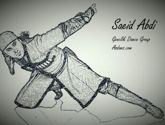 هماهنگی با موسیقی در رقص آذری